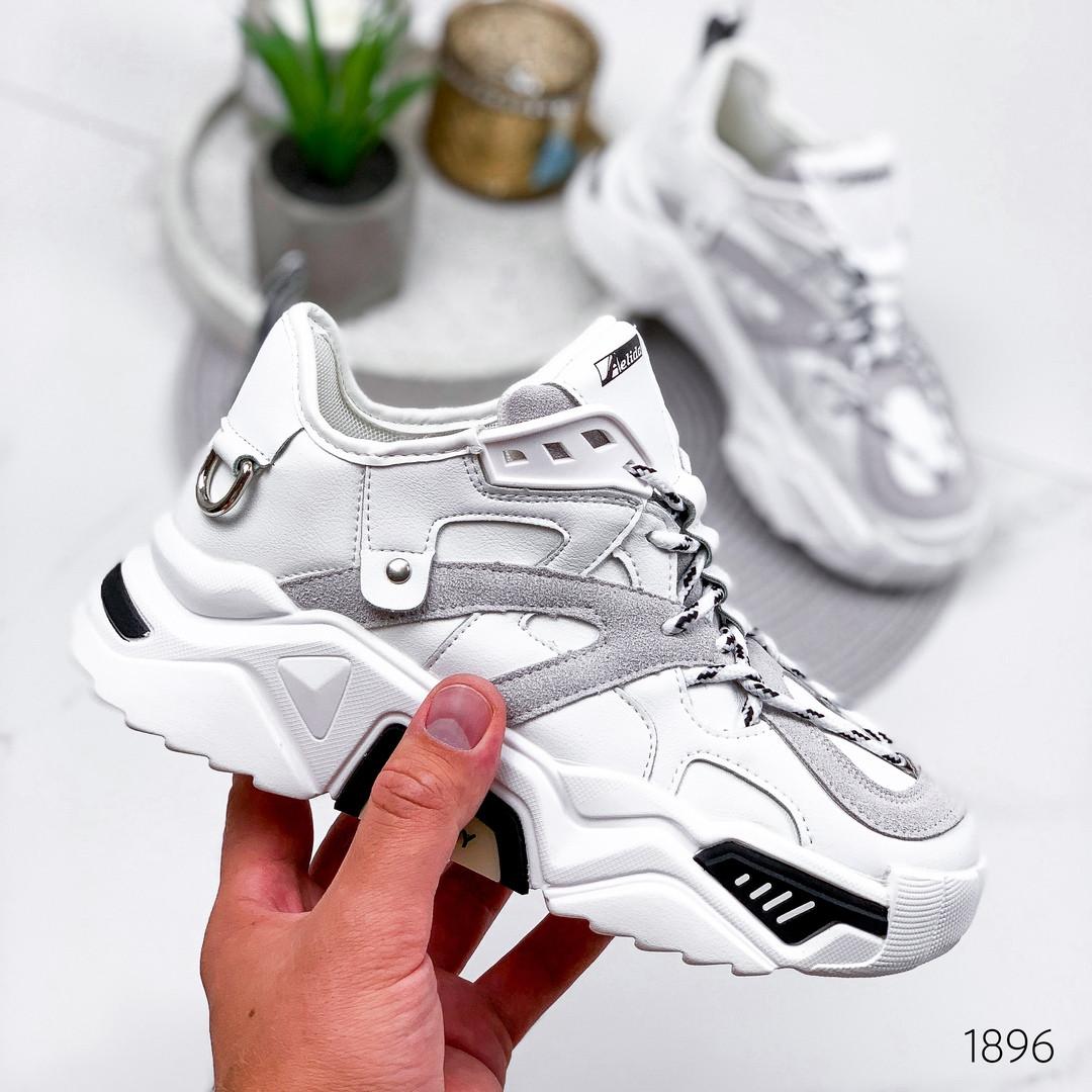 Белые кроссовки женские стиль городской