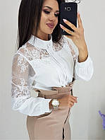 Блуза  женская  в расцветках 43445, фото 1