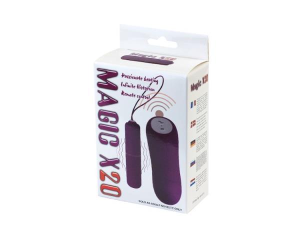 Радиоуправляемый вибратор Magic X20