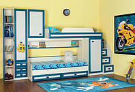Модульная стенка для детской комнаты «Твинс», Детская Твинс