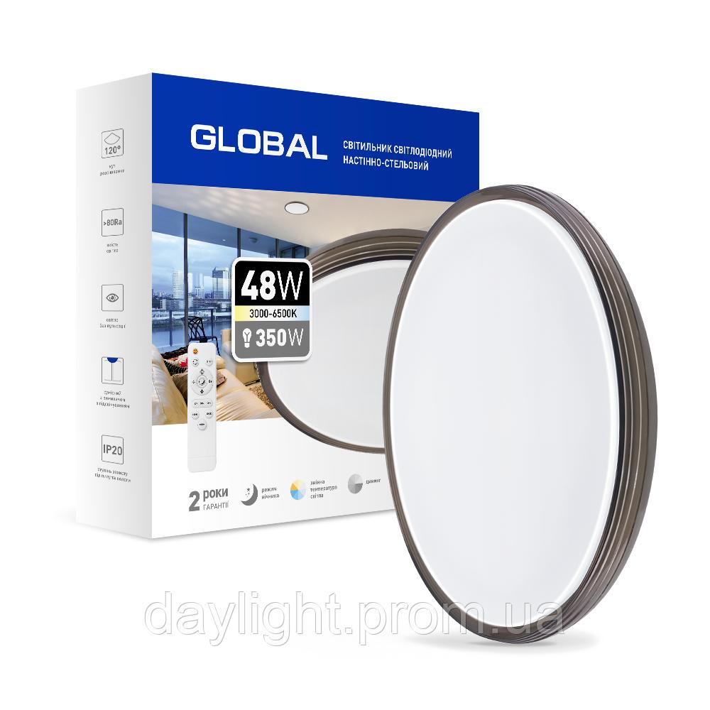 Функциональный настенно-потолочный светильник 48w GLOBAL