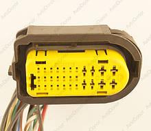 Разъем автомобильный 29-pin/контактный. Мама. 45×19 mm. Б.У
