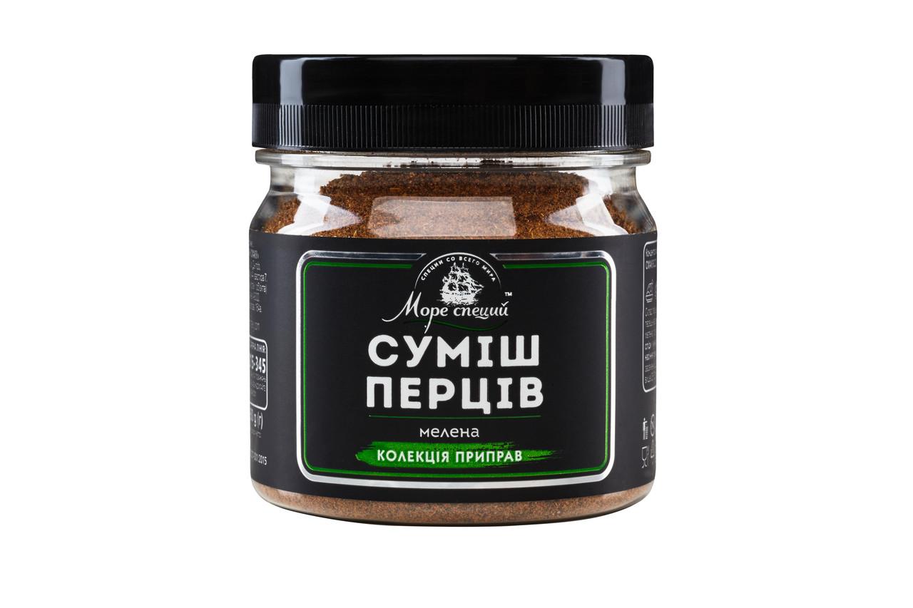 Суміш перців мелена 80 г., баночка п/е