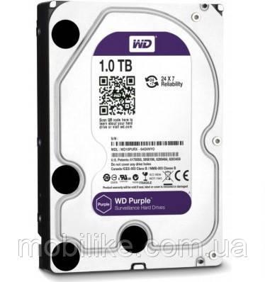 Жорсткий диск Western Digital Purple 1TB 5400rpm 64MB WD10PURX 3.5 SATA III