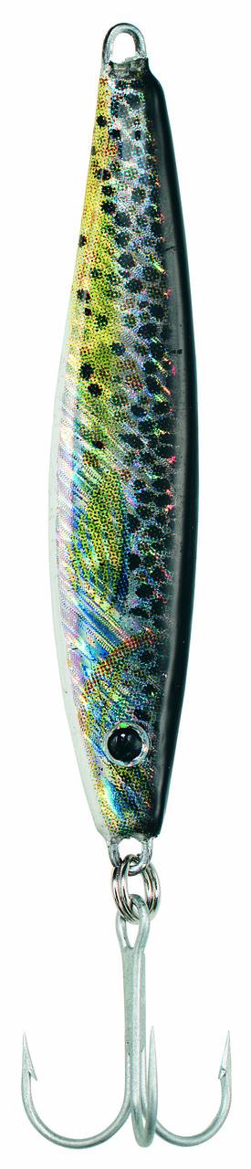 Блесна Balzer Pilker 3D 25гр.70мм.цвет-ручьевая форель