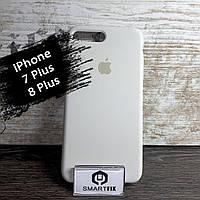 Силиконовый чехол для iPhone 7 Plus / iPhone 8 Plus Soft Белый, фото 1