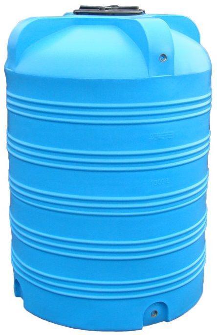 Емкость вертикальная 1500 литров бак, бочка пищевая V