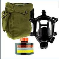 Маска противогаз ППМ88 с фильтром от гербицидов и пестицидов