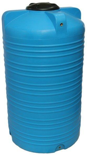 Емкость вертикальная 2000 литров бак, бочка пищевая V