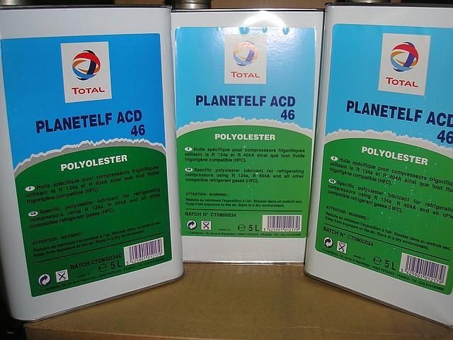 Масло холодильное ACD 46 Planet Elf (5 л\канистра)