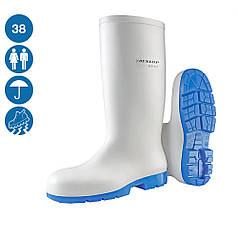 Сапоги резиновые защитные спецобувь для пищевых предприятий Dunlop Acifort Classic+ белый