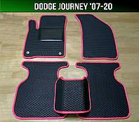 ЕВА коврики на Dodge Journey '07-20. Ковры EVA Додж Джорни