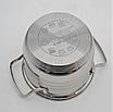 Набор кастрюль из нержавеющей стали 12 пр. 5-слойным дном Benson (2.1 , 2.1,  2.9 , 3.9, 6,5 л.)с сковородой, фото 5