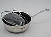Набор кастрюль из нержавеющей стали 12 пр. 5-слойным дном Benson (2.1 , 2.1,  2.9 , 3.9, 6,5 л.)с сковородой, фото 6