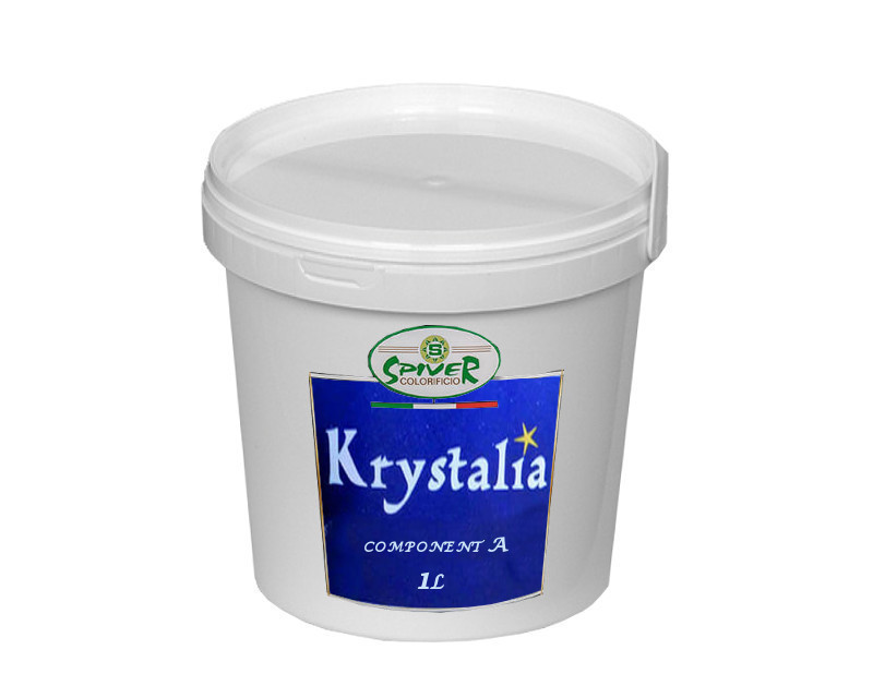 "Штукатурка ""мерехтливі кристали"" SPIVER KRYSTALIA COMPONENT A декоративна 1л"