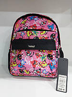 Дошкольный рюкзак для девочек Dolly 361 с принтом Angry Birds