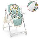 Детский стульчик для кормления ME 1037 CRYSTAL PINEAPPLE MINT, фото 3