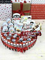 Подарунок для дівчини/ Подарковий бокс / Торт з Kinder chocolate