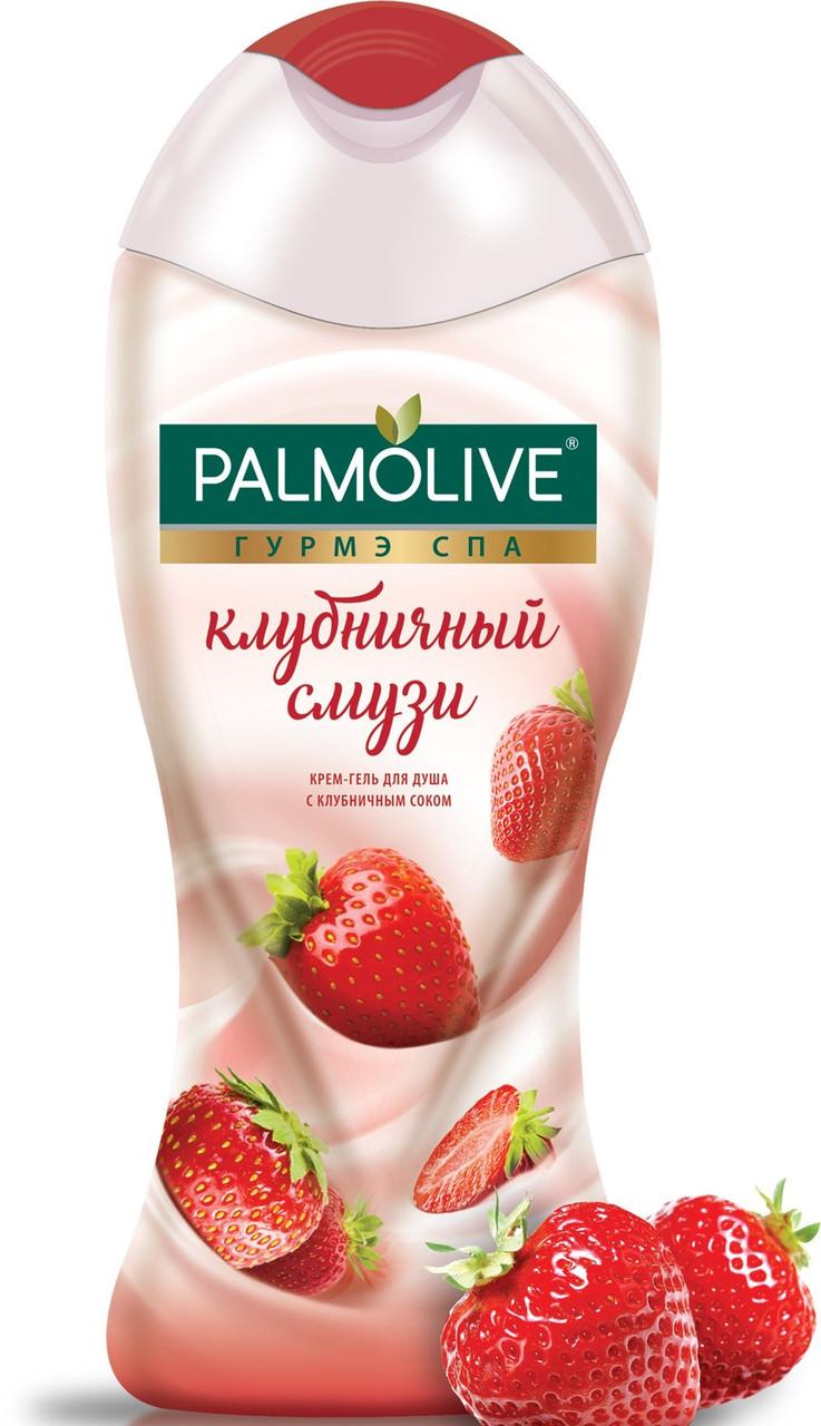 Гель для душа Palmolive клубничный смузи 250мл