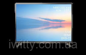 """Телевизор TCL 22"""" СМАРТ приставка в ПОДАРОК FullHD/DVB-T2/USB (1080р), фото 2"""