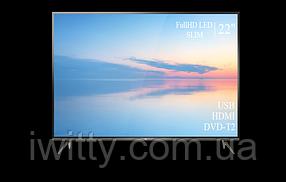 """Телевизор TCL 22"""" СМАРТ приставка в ПОДАРОК FullHD/DVB-T2/USB (1080р), фото 3"""