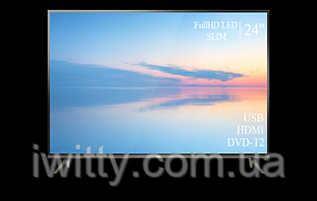 """Телевизор TCL 24"""" СМАРТ приставка в ПОДАРОК FullHD+DVB-T2+USB, фото 3"""