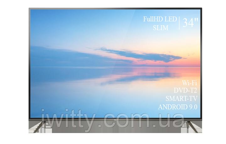 """Телевизор TCL 34"""" Smart-TV/Full HD/DVB-T2/USB Android 9.0"""