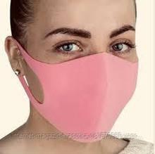 Маска питта многоразовая защитная Pitta Mask (1 шт) цветные розовая