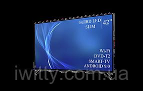 """Телевизор Bravis 42"""" Smart-TV/Full HD/DVB-T2/USB Android 9.0, фото 2"""