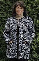 Кардиган женский на змейке размер 52-60, цвет уточняйте при заказе, фото 1