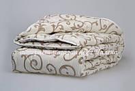 Зимнее одеяло из овечьей шерсти полуторного размера, фото 1