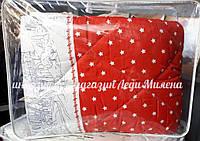 Зимовий бавовняну ковдру з овечої вовни полуторна оптом і в роздріб, фото 1