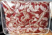 Зимнее хлопковое одеяло из овечьей шерсти полуторное оптом и в розницу, фото 1