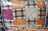 Зимовий бавовняну ковдру з овечої вовни двоспальне оптом і в роздріб, фото 1