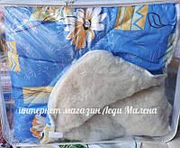 Зимнее одеяло двухспальное с открытым мехом, фото 1