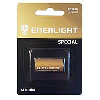 Батарейка литиевая Enerlight CR123A U-1 3V Lithium