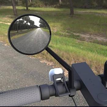 Зеркало заднего вида, боковое зеркало, для самоката, велосипеда