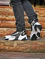 Мужские кроссовки Nike ZooM 2K Black White / Зумы найк 2К
