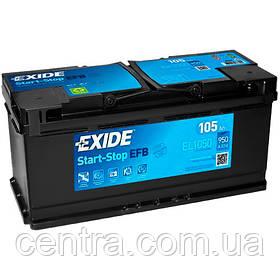 Автомобильный аккумулятор EXIDE EFB EL1050 105Ah R+