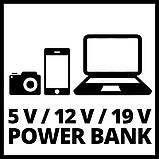 Авто Jump-Start - Power Bank Einhell CE-JS 12, фото 9