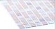 Листовая панель ПВХ на стену Регул, Мозаика (Коричневый Микс), фото 2