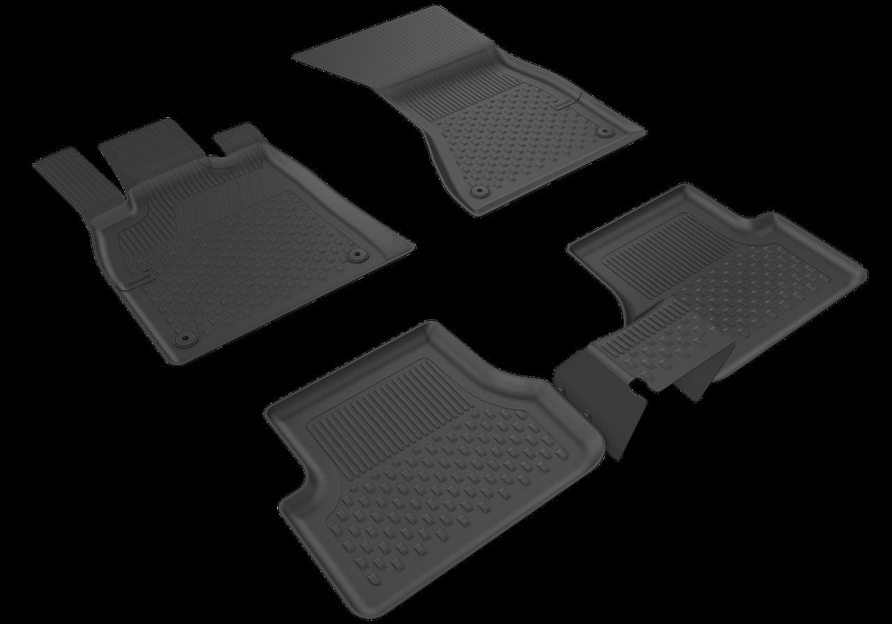 Автомобильные коврики в салон SAHLER 4D для NISSAN Rogue 2014-2020 NI-02