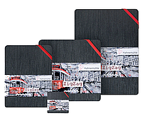 Скетчбук акварельный Hahnemuhle the ZigZag book 300 г/м², А5, 18 стр. (фальцованная бумага)