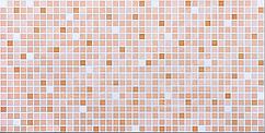 Листовая панель ПВХ на стену Регул, Мозаика (Оранжевый Микс)