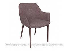 Кресло MILTON (51*61*78 cm текстиль) какао, Nicolas