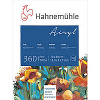 Бумага для акрила Hahnemuhle Acrylic Paint Board 360 г/м², 24 x 32 см, 10 листов, склейка