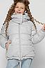 Зимняя куртка  люрекс на девочку, на  рост 110-158