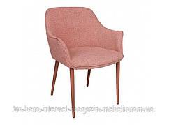 Кресло MILTON (51*61*78 cm текстиль) терракот, Nicolas
