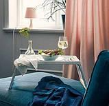 Переносний столик – піднос зі складними ніжками для ноутбука IKEA KLIPSK білий 002.588.82, фото 8