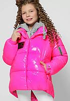 Пухова куртка на дівчинку, ріст 110-158